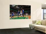 New York Knicks v Boston Celtics - Game Two, Boston, MA - April 19: Rajon Rondo, Amar'e Stoudemire  Poster