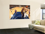 Los Angeles Lakers v Indiana Pacers: Josh McRoberts and Lamar Odom Prints by Ron Hoskins