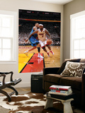 Dallas Mavericks v Miami Heat - Game Six, Miami, FL - June 12: LeBron James and Shawn Marion Art by Andrew Bernstein