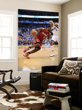 Miami Heat v Dallas Mavericks - Game Four, Dallas, TX -June 7: LeBron James and Shawn Marion Poster by Garrett Ellwood