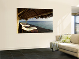 Looking Out to Sea from the Punta Caracol Hotel Verandah Posters by Alfredo Maiquez