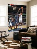 Charlotte Bobcats v Memphis Grizzlies: Hamed Haddadi and DeSagana Diop Print by Joe Murphy