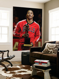 Atlanta Hawks v Chicago Bulls - Game Two, Chicago, IL - MAY 04: Derrick Rose Posters by Jonathan Daniel
