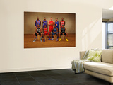 2011 NBA All Star: Greg Monroe, Gary Neal, DeMarcus Cousins, Eric Bledsoe, Blake Griffin, John Wall Art