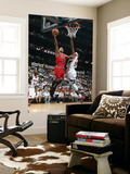Chicago Bulls v Atlanta Hawks - Game Three, Atlanta, GA - MAY 6: Derrick Rose and Josh Smith Prints by Scott Cunningham
