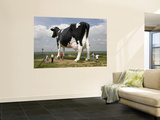 World's Largest Holstein Cow Prints by Richard Cummins