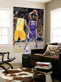 Los Angeles Lakers v New Orleans Hornets, New Orleans, LA - APRIL 22: Kobe Bryant and Trevor Ariza Prints by Layne Murdoch