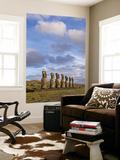 Ahu Aviki Moai Statues Prints by John Elk III