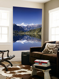 Lake Matheson and Mt.Cook, South Island, New Zealand Posters by Steve Vidler