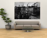 Bomb Damaged Buildings in the Shadow of the Thyssen Steel Mill Prints by Ralph Crane