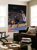 Atlanta Hawks v Detroit Pistons: Josh Smith and Greg Monroe Posters by Allen Einstein