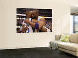 Los Angeles Lakers v Dallas Mavericks - Game Four, Dallas, TX - MAY 08: Kobe Bryant and DeShawn Ste Prints by Ronald Martinez