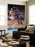 Oklahoma City Thunder v Dallas Mavericks - Game TwoDallas, TX - MAY 19: Kevin Durant, Jason Kidd Prints by Andrew Bernstein