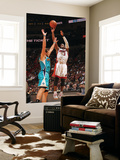 New Orleans Hornets v Miami Heat: Dwyane Wade and Marco Belinelli Print by Victor Baldizon