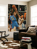 Oklahoma City Thunder v Denver Nuggets - Game Four, Denver, CO - April 25: Kevin Durant and Chris A Posters