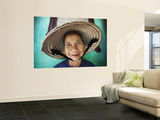 Vietnam, Hoi An, Portrait of Elderly Woman Posters by Steve Vidler