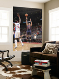 Atlanta Hawks v Detroit Pistons: Mike Bibby and Ben Wallace Prints by Allen Einstein