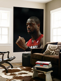 Miami Heat v Chicago Bulls - Game Five, Chicago, IL - MAY 26: Dwyane Wade Art by Jonathan Daniel