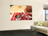 Los Angeles Clippers v Chicago Bulls: Omer Asik and Craig Smith Print by Randy Belice