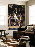 Los Angeles Lakers v Indiana Pacers: Roy Hibbert, Lamar Odom and Pau Gasol Prints by Ron Hoskins