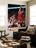 Philadelphia 76ers v Orlando Magic: Dwight Howard and Spencer Hawes Posters by Sam Greenwood