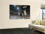 San Antonio Spurs v Memphis Grizzlies - Game Four, Memphis, TN - APRIL 25: Tim Duncan and Zach Rand Posters by Joe Murphy
