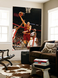Cleveland Cavaliers v Miami Heat: Anthony Parker and LeBron James Kunst af Issac Baldizon