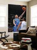 Minnesota Timberwolves v Denver Nuggets: Michael Beasley and Shelden Williams Art by Garrett Ellwood