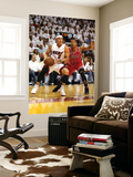 Chicago Bulls v Miami Heat - Game ThreeMiami, FL - MAY 22: Mike Bibby and Derrick Rose Prints by Marc Serota