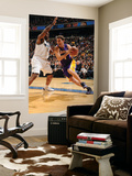 Los Angeles Lakers v Washington Wizards: Luke Walton and Trevor Booker Prints by Andrew Bernstein