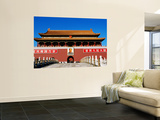 Tiananmen Gate with Mao Poster Print by Greg Elms
