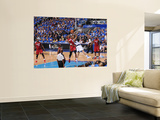 Miami Heat v Dallas Mavericks - Game Three, Dallas, TX -June 5: Chris Bosh and Tyson Chandler Posters by Andrew Bernstein
