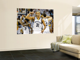 Oklahoma City Thunder v Memphis Grizzlies - Game Six, Memphis, TN - MAY 13: Shane Battier Art by Kevin Cox