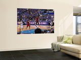 Miami Heat v Dallas Mavericks - Game Three, Dallas, TX -June 5: Dwyane Wade and Jason Terry Prints by Andrew Bernstein