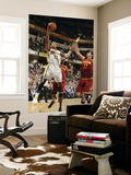 Cleveland Cavaliers  v Indiana Pacers: Danny Granger and Anderson Varejao Prints by Ron Hoskins