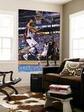 Miami Heat v Dallas Mavericks - Game Five, Dallas, TX -June 9: DeShawn Stevenson and Juwan Howard Prints by Mike Ehrmann