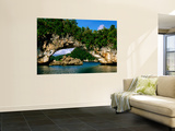 Arch Rock, Natural Archway, Rock Islands, Koror, Palau Prints by John Elk III