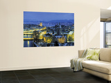 Skyline of Zurich, Switzerland Prints by Jon Arnold