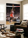 Chicago Bulls v Miami Heat - Game FourMiami, FL - MAY 24: LeBron James, Luol Deng Posters by Mike Ehrmann