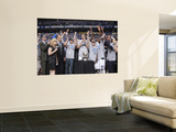 Oklahoma City Thunder v Dallas Mavericks - Game Five, Dallas, TX - MAY 25: Mark Cuban Art by Glenn James