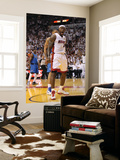 Dallas Mavericks v Miami Heat - Game Two, Miami, FL - JUNE 02: LeBron James Art by Mike Ehrmann