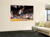 Dallas Mavericks v Miami Heat - Game One, Miami, FL - MAY 31: Chris Bosh and Shawn Marion Art by Jesse D. Garrabrant