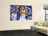 Oklahoma City Thunder v Dallas Mavericks - Game TwoDallas, TX - MAY 19: Dirk Nowitzki and Kevin Dur Prints by Ronald Martinez