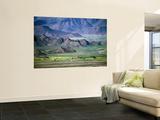 Scenery of Phenpo Valley from Nalendra Monastery Near Lhundrub Poster by Bradley Mayhew