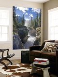 Athabasca Falls Waterfall, Jasper National Park, Alberta, Canada Posters by Michele Falzone