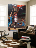 New Orleans Hornets v Detroit Pistons: Greg Monroe and Jason Smith Posters by Allen Einstein