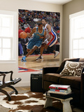 New Orleans Hornets v Detroit Pistons: Trevor Ariza and Tracy McGrady Prints by Allen Einstein