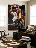 Los Angeles Lakers v Washington Wizards: Gilbert Arenas and Matt Barnes Poster by Andrew Bernstein