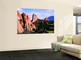 Rock Formations Extending into Valley, Garden of the Gods Park Posters by Charles Cook