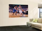 Oklahoma City Thunder v Dallas Mavericks - Game One, Dallas, TX - MAY 17: Jason Kidd and Thabo Sefo Art by Andrew Bernstein